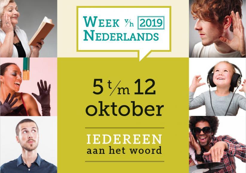 Banner Week van het Nederlands 2019
