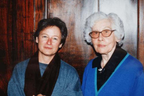 Ena Jansen en Elisabeth Eybers