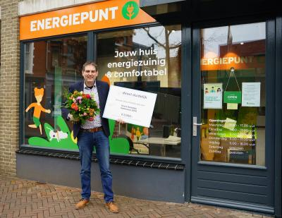 Sander Lubberhuizen, bedrijfsleider Energiek Apeldoorn bij gemeente Apeldoorn